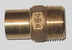 Rotguß Doppelnippel     AG                                        4280G
