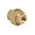 Rotguss Rohrverschraubung konisch dichtend mit zyl. AG                         3340