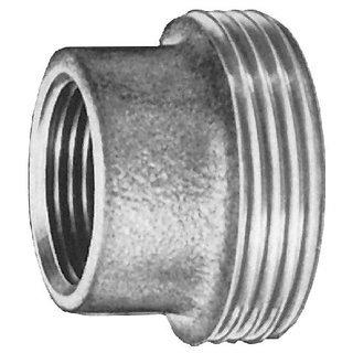 Rotguss Einschraubteil konisch dichtend mit zyl. IG und zyl AG                  3380
