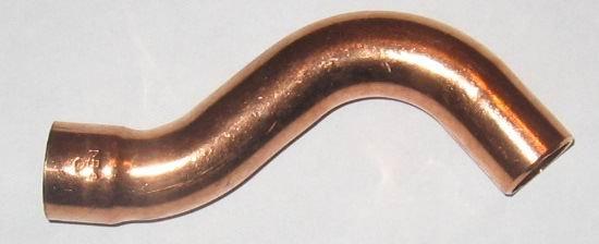 Kupfer Lötfitting Überspringbogen 5086  i/a  16