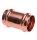 P5270S  Kupfer Press Fitting Schiebemuffe    I / I