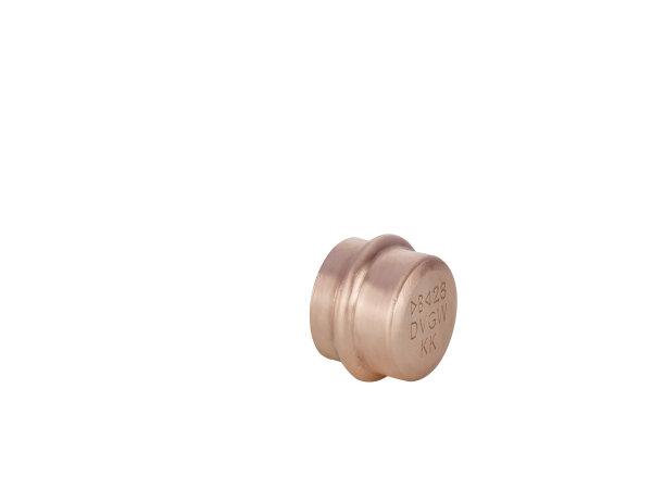 P5301   Kupfer Press Fitting   Kappe