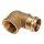 Press - Winkelverschraubung 90° flach dichtend mit zyl  IG    4090G   Rg