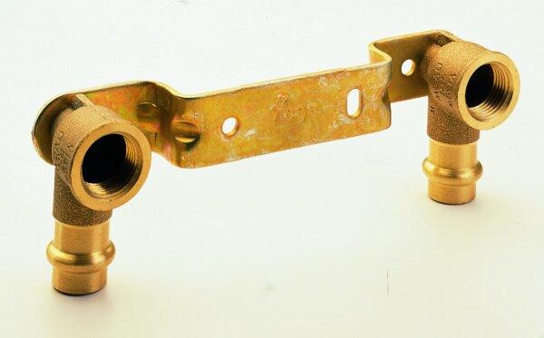 Press Montageeinheit gekröpft P4976 mit zyl. IG 15 x 1/2 x 150 IG Rg