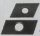 Schiebemuttern, rechteckig, verzinkt  23 x 30 x 5   Gewinde M 8