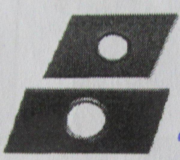Schiebemuttern, für Profil 38/40  verz.  Abm.  M 8