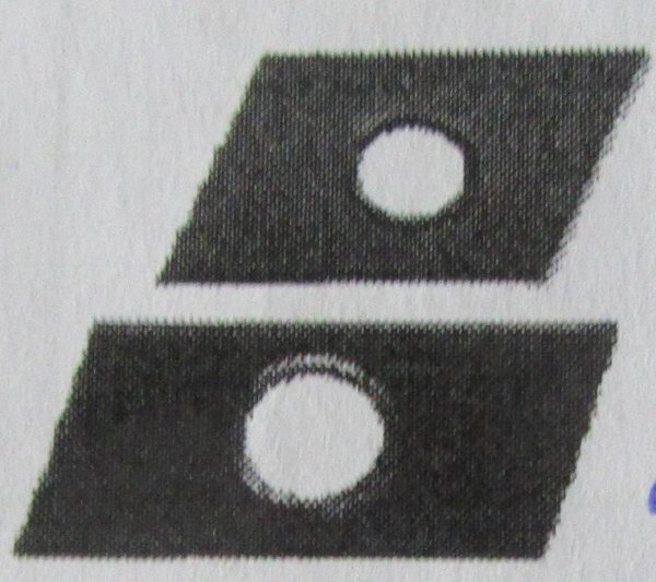 Schiebemuttern, für Profil 38/40  verz.  Abm.  M 10