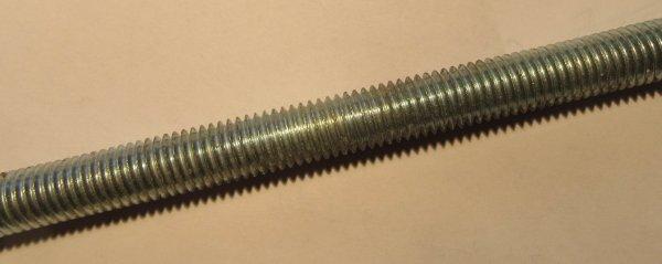 Gewindestanagen verzinkt,  (nach DIN 975)   Länge  1.000 mm