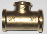 T-Stück reduziert (1905) MS blank