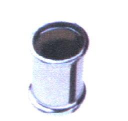 Ms Doppelmuffe verchr. Ø  32 mm  und 2 O-Ringen