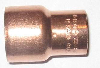 Kupfer Lötfitting Muffe reduziert                          5240   DVGW
