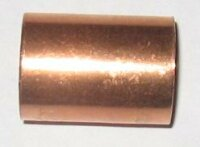 Kupfer Lötfitting Schiebemuffe 5270S  22 i/i