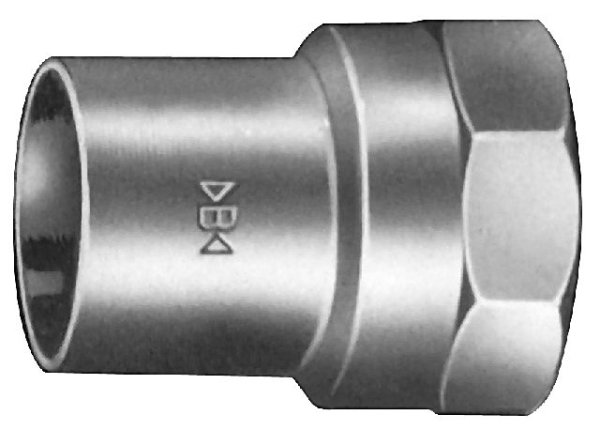 Rotguß Übergangs-Muffen-Nippel     IG                     4246G